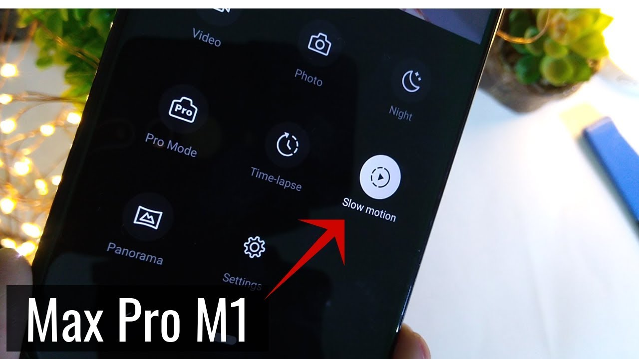 Slow Motion Camera on Asus Zenfone Max Pro M1 - No Root!