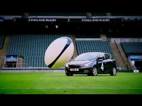 Car Rugby At Twickenham (First Half) | Top Gear | Series 19 | BBC