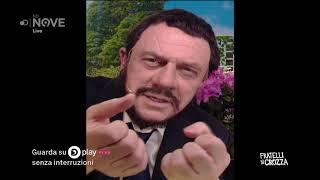 Crozza è Salvini il cattivone