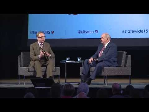 Statewide 2015 Keynote: President McRobbie & Brad Wheeler