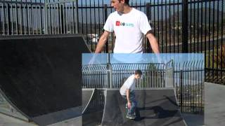 How To Ride Up And Down A Quarter Pipe