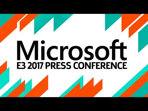 E3 2017: Microsoft Press Conference Livestream and Pre-show