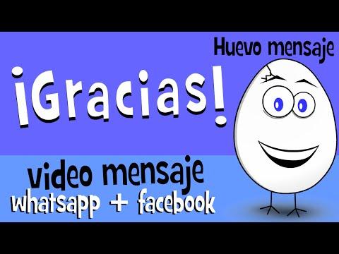 Gracias Mensaje De Agradecimiento Para Whatsapp Facebook Huevo