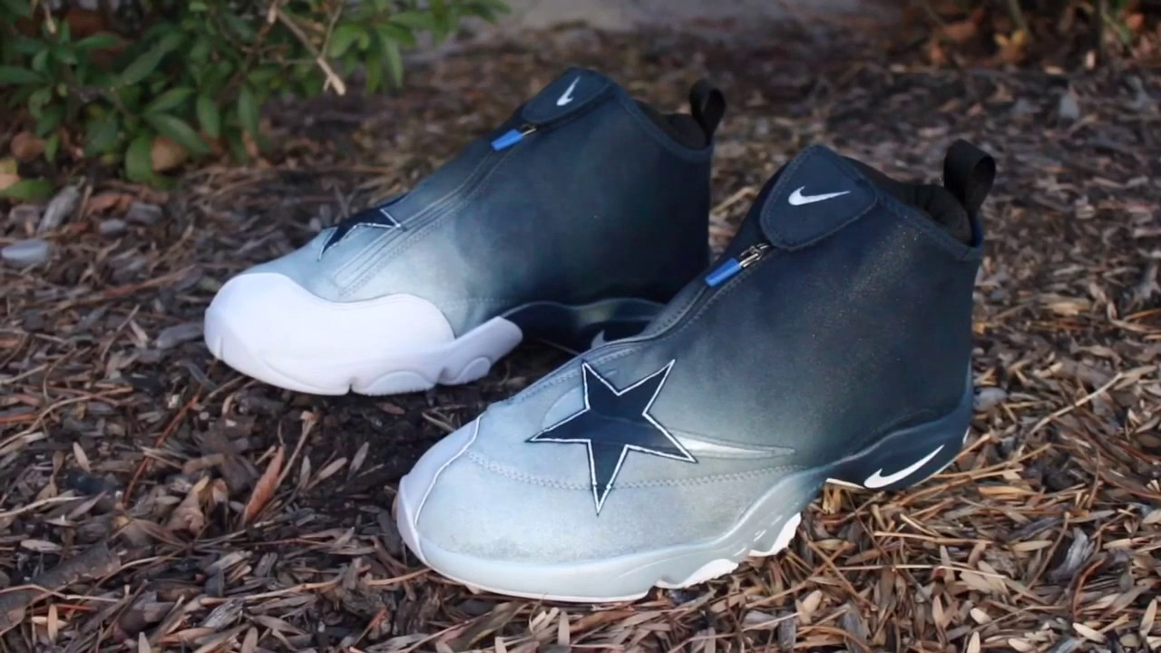 9b6bbae75ac3 Dallas Cowboys Nike Glove Custom - YouTube