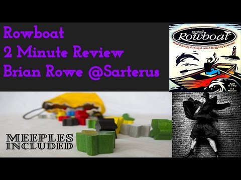 Hidden Gem Trick Taking Game Rowboat- 2 Minute Review By Sarterus