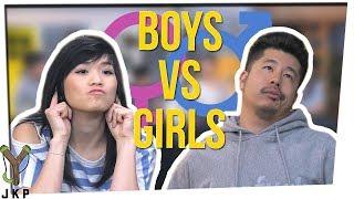 Who LISTENS Better?!   BOYS VS GIRLS??? ft. Gina Darling