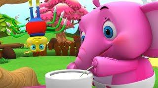 Девочка Маффит | детские стишки | Детские песни | Little Treehouse | Little Miss Muffet