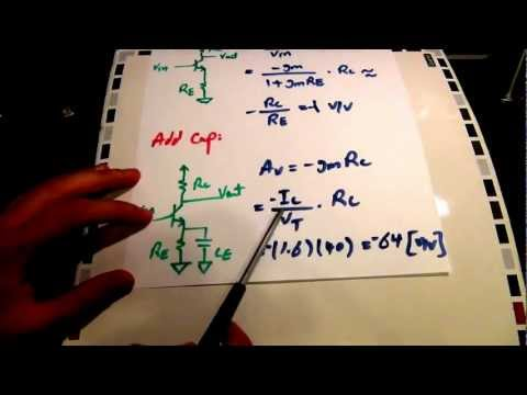 TSP #15 - Tutorial on the Theory, Design and Characterization of a Single Transistor BJT Amplifier