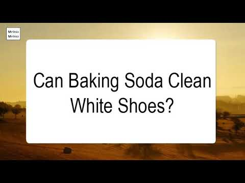 Can Baking Soda Clean White Shoes