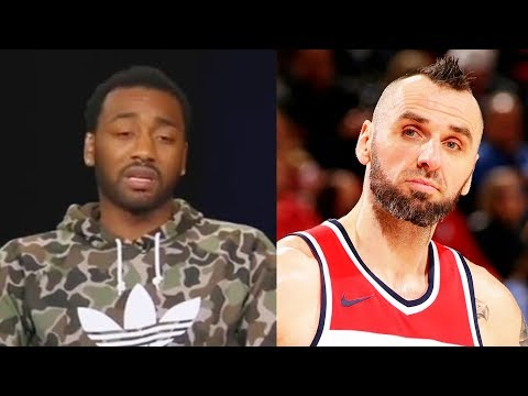 """John Wall SHUTS UP Marcin Gortat """"You Get Spoon-fed Buckets"""" and Responds to Wizards Teammates!"""