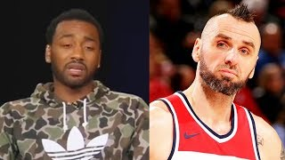 "John Wall SHUTS UP Marcin Gortat ""You Get Spoon-fed Buckets"" and Responds to Wizards Teammates!"