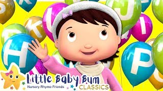 ABCs Balloons Song - Nursery Rhymes & Kids Songs - Little Baby Bum | ABCs and 123s