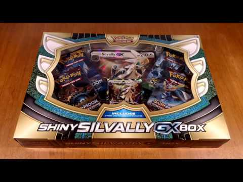 Opening Pokemon Cards - Shiny Silvally GX Box