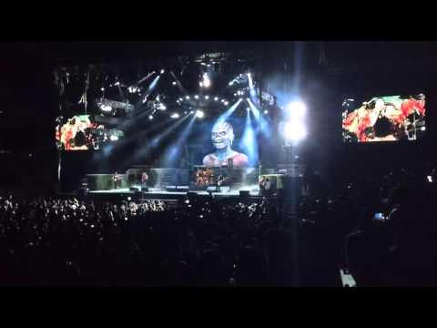 Iron Maiden - Iron Maiden - Le Sports Center Beijing - 2016/04/24 - The Book Of Souls World Tour