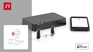 How to pair your Signia Made for iPhone hearing aids with StreamLine TV (iPhone)