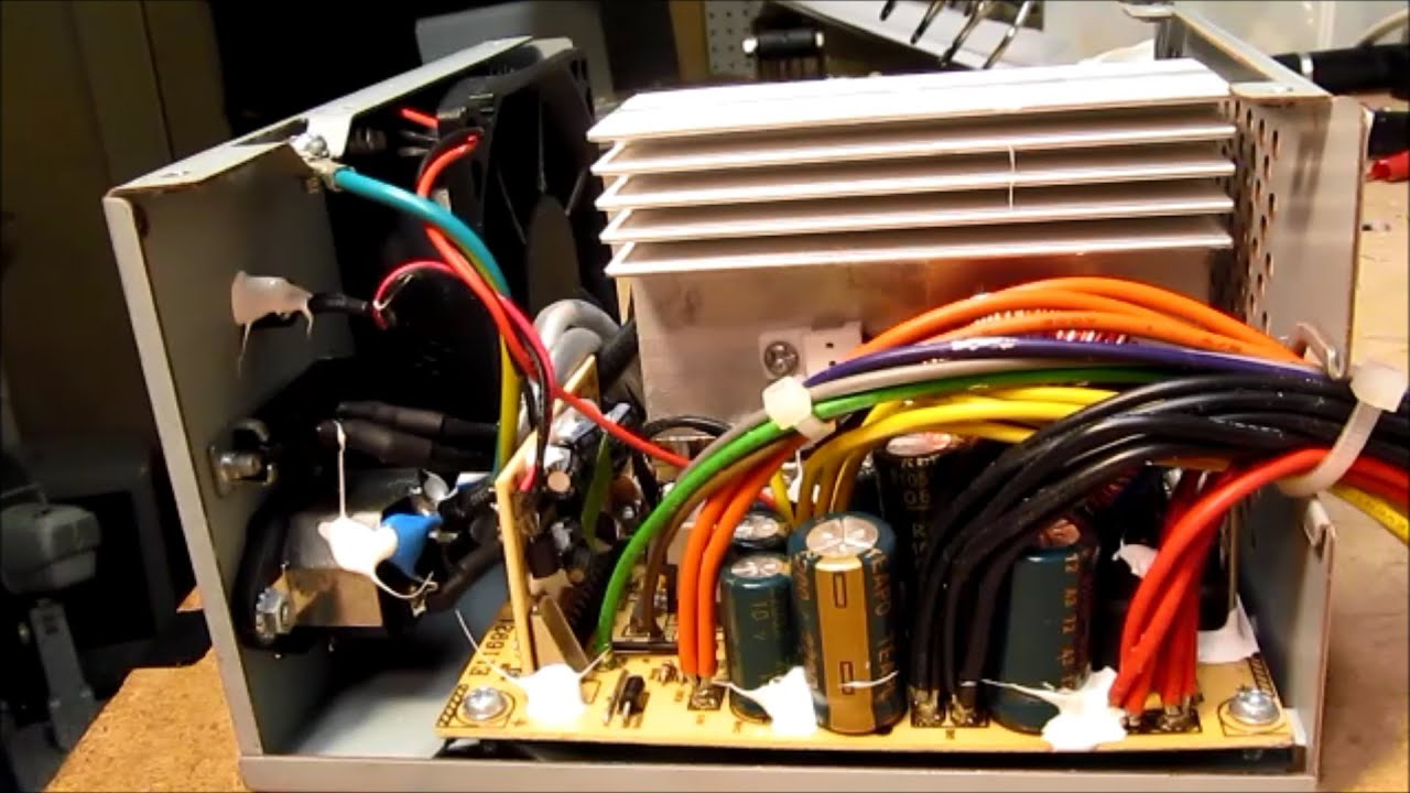 Hipro power supply autopsy ramble - YouTube