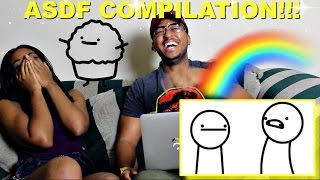 Couple Reacts : asdfmovie 1-9 (Complete Collection) Reaction!!!