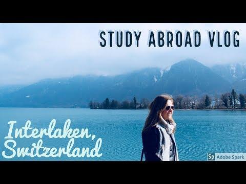 Weekend in Interlaken, Switzerland. Study Abroad Vlog