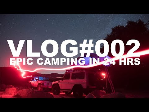 Camping in 24hrs with Booboo Stewart  VLOG002