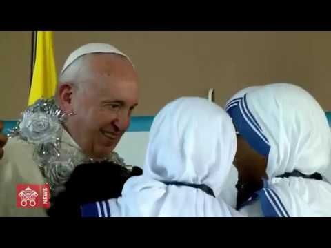 Pope Francis Videonews - Panama - Visit to Shelter and Angelus 2019-01-27