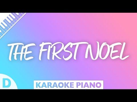 The First Noel (Key of D - Piano Karaoke)
