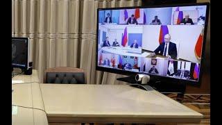 Фото Как регионы России отреагировали наобращение Путина