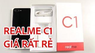Mở hộp Realme C1 giá cực rẻ, hơn kém gì so với Vsmart Joy 1