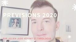 Prédictions 2020 : les prévisions de Julien Jude