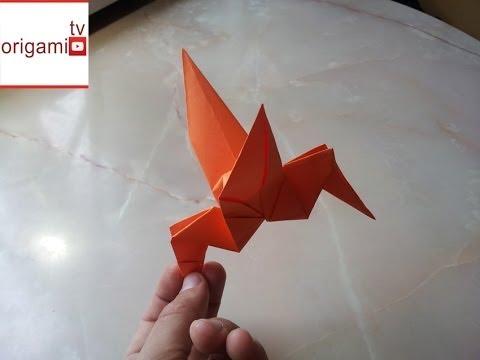 Оригами Колибри. Поделки из