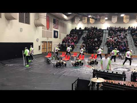 George Mason Drumline WGI 2019 - Powhatan High School (ft. Joseph Noah)