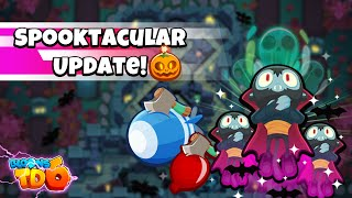 Bloons TD 6 Update 21.0 - NEW SPOOKTACULAR MAP & MUCH MORE!