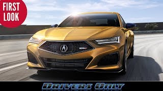 2021 Acura TLX - First Look at New TLX and Type S