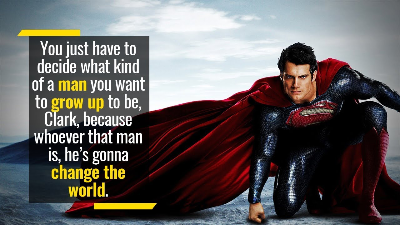 Do you want to become a superman