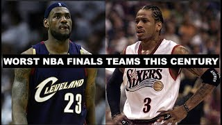 The 5 Worst Teams To Appear In The NBA Finals This Century