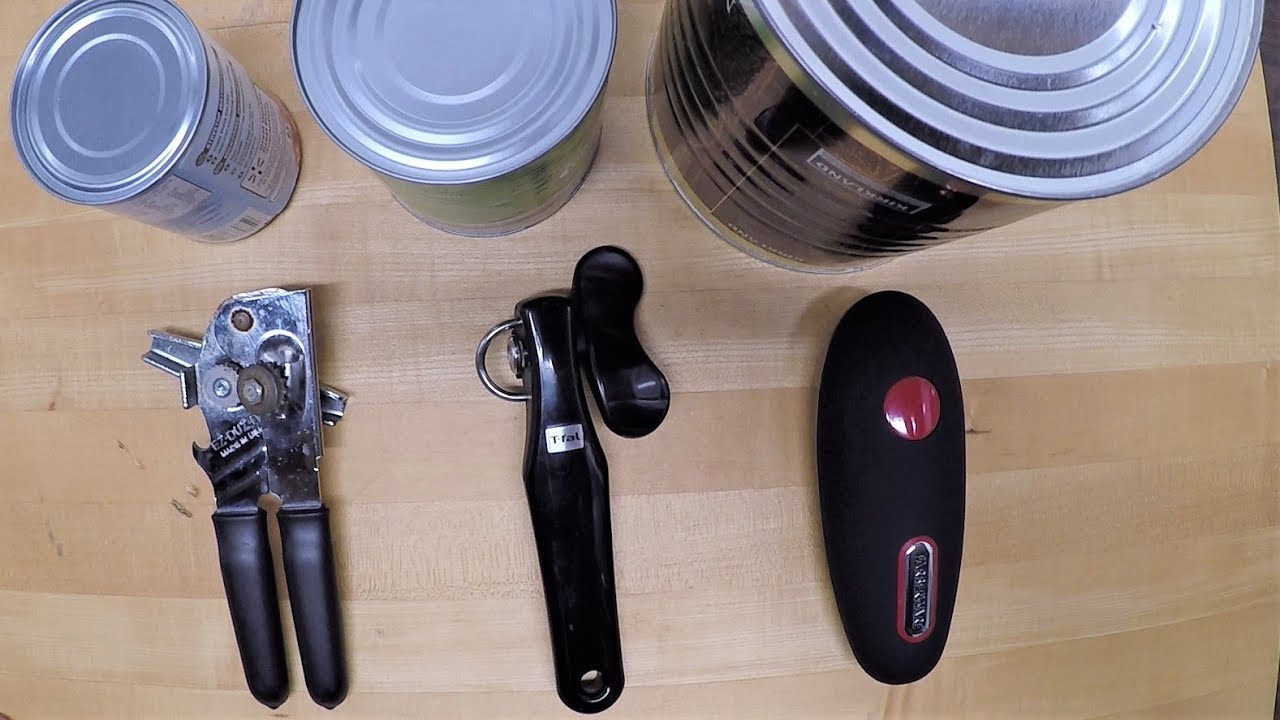 Picking The Best Can Opener For You Honest Review Youtube
