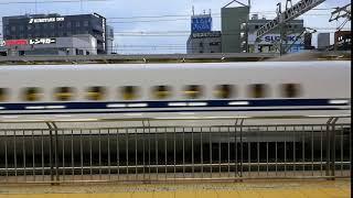 浜松駅新幹線通過②@2019.10.3.