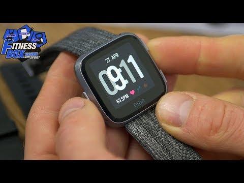 Fitbit VERSA im Test: Menü & ALLE Einstellmöglichkeiten im Detail + Hands-On & Sensoren