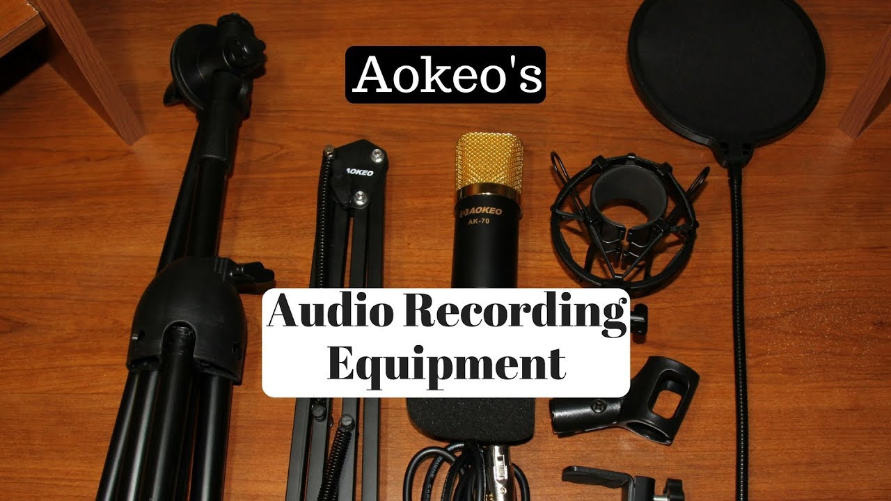 Aokeo S Audio Recording Equipment Sets Ak 35 Ak 107 Ak 70 Etc