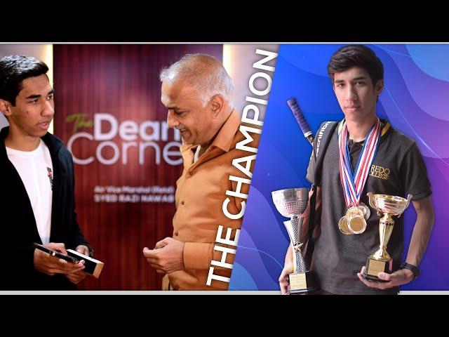 The Dean's Corner - S01E09 - A Champion's Time Management