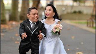 Cặp đôi bé nhất thế giới kết hôn sau 8 năm yêu nhau