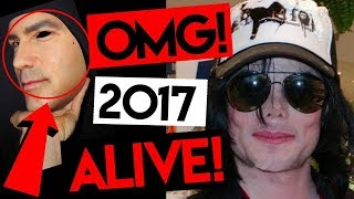 Michael Jackson ⛔️ NEW disguise 2017 👉 MASK proofs ALIVE 100%