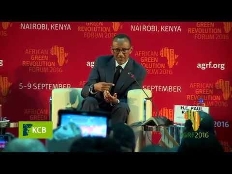 Rwandan President H.E Paul Kagame on Rwanda's Delivery Mechanism in Agriculture
