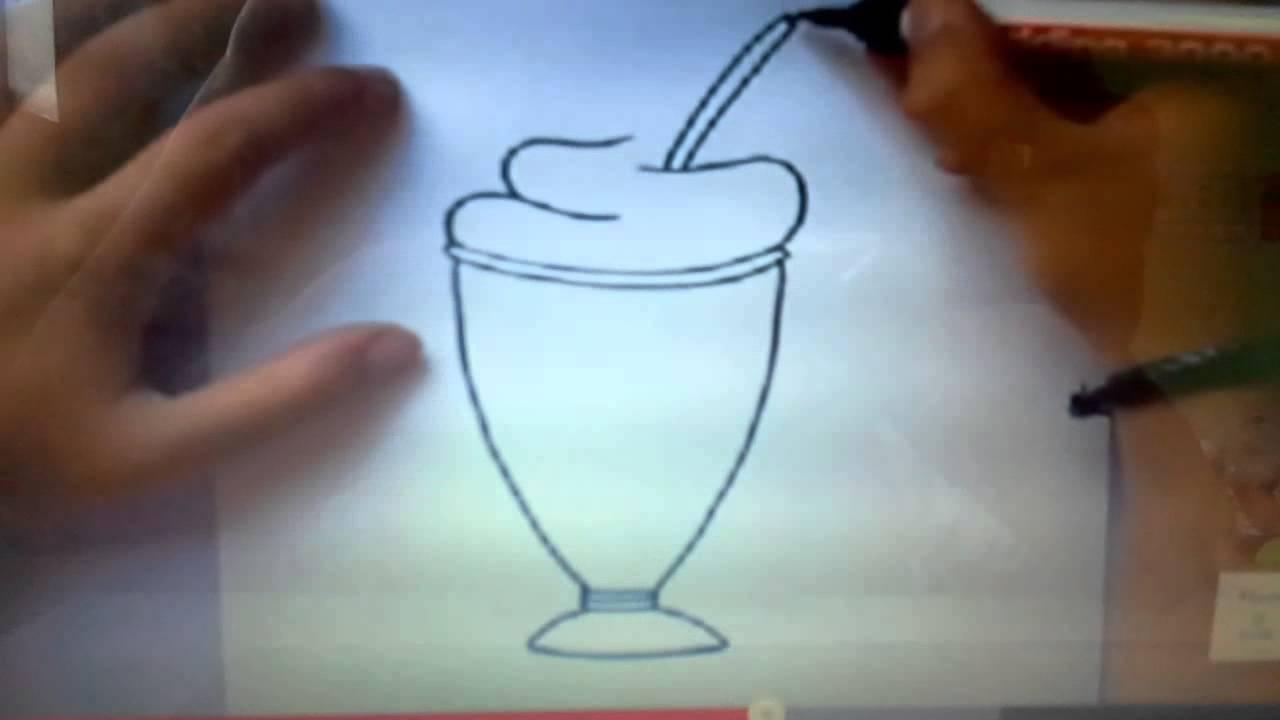 Como Desenhar Um Milk Chak Youtube