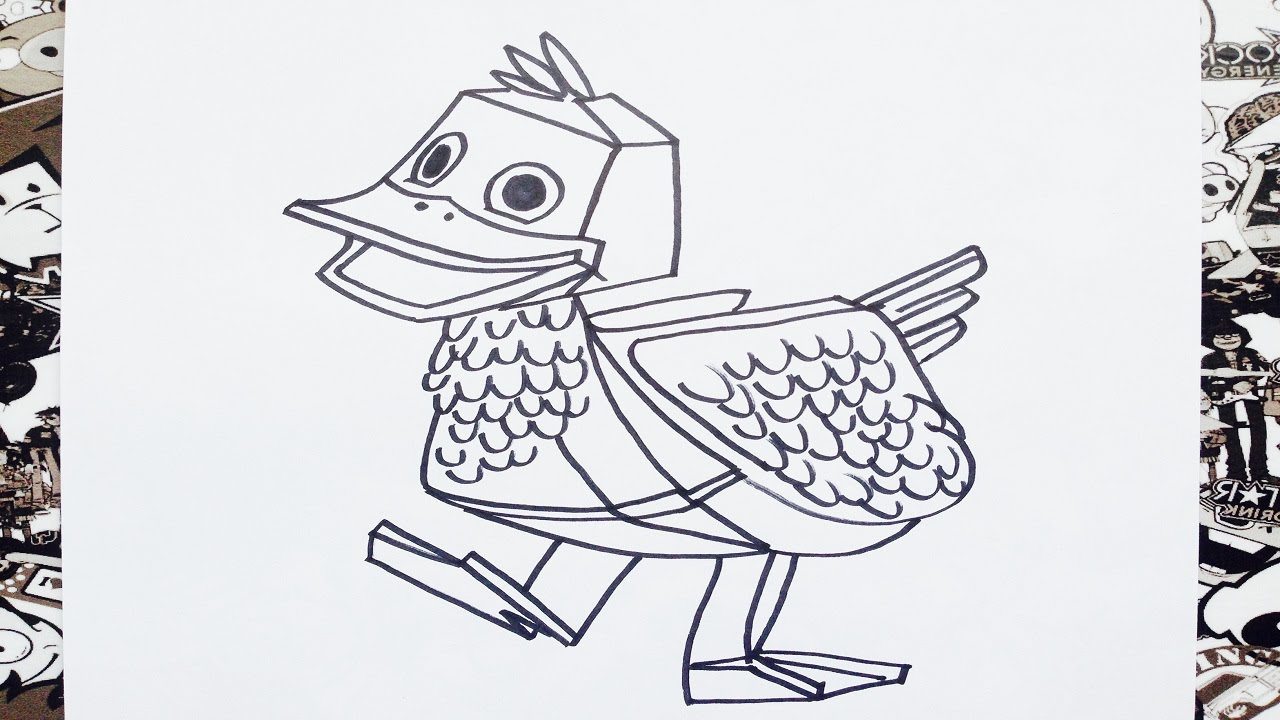 zack and quack coloring pages - photo#14