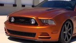 Burnt Copper Mustang GT