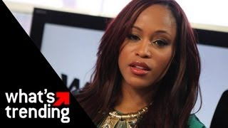 """Rapper Eve on New Album """"Lip Lock"""" Collaborating with Missy Elliott and More!"""
