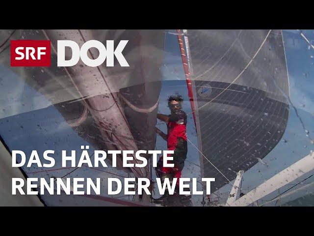 An der Vendée Globe   Extremsegler Alan Roura – Allein um die Welt   Reportage   SRF DOK
