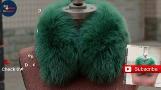 Real Fox Fur Collar Women 100% Natural Fox Fur Scarf Winter Warm Fur Collar short Scarves