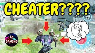MY LEECH DECIDE TO CHEAT -  War Robots FFA Gameplay WR
