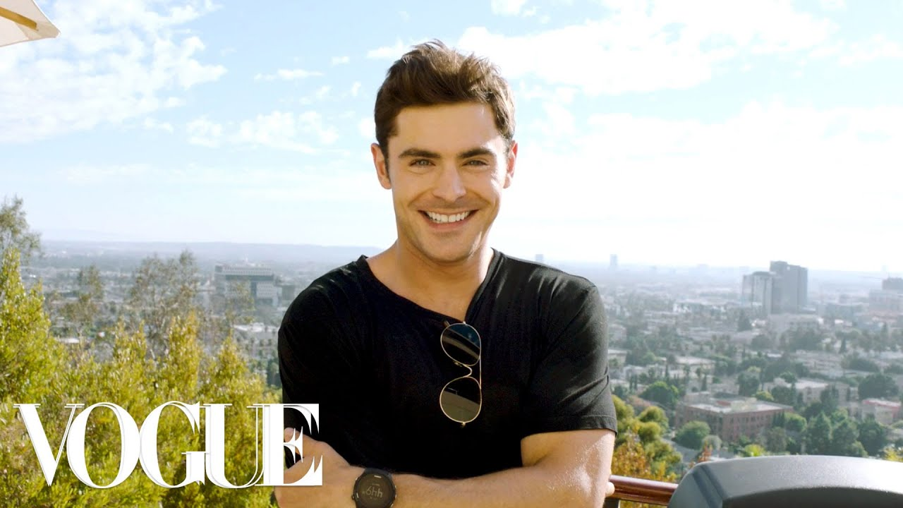 Zac Karte.73 Questions With Zac Efron Vogue